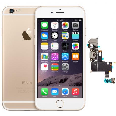 Reparar conector de carga iPhone 6