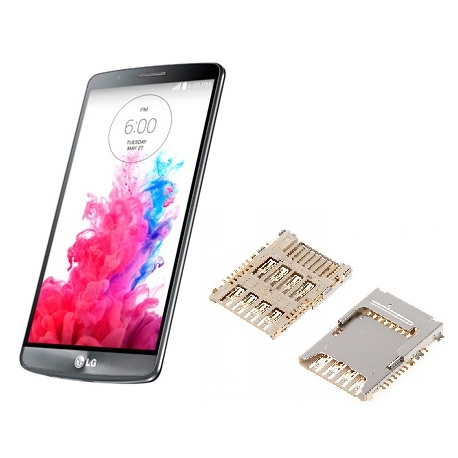 Reparar lector SIM Lg G3 d855