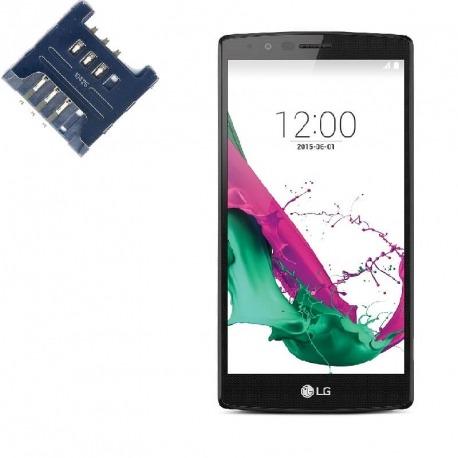 Reparar lector SIM LG G4s