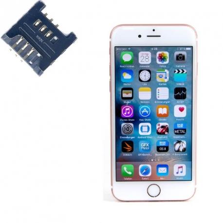 Reparar lector SIM Iphone 6S