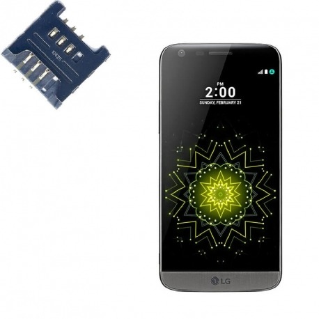 Reparar lector SIM LG G5 Titan