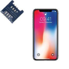 Reparar lector SIM IPHONE X