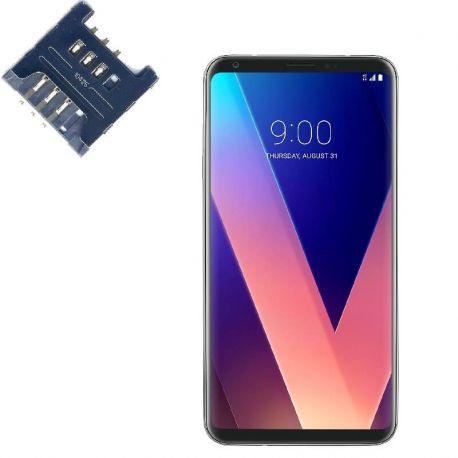 Reparar lector SIM LG V30