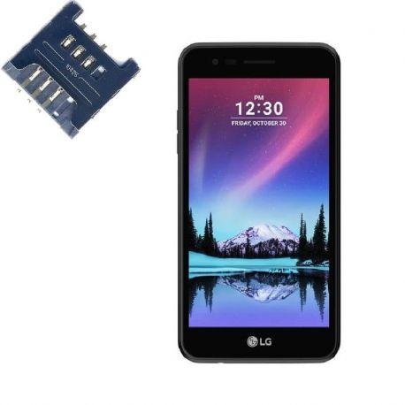 Reparar lector SIM LG K4 (2017)