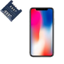 Reparar lector SIM IPHONE X REPLICA